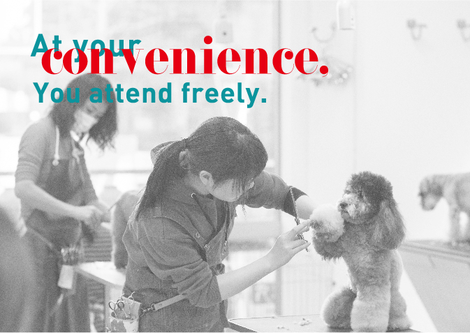 At your conveniense. You attend freely.